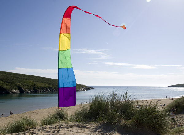 View Festival Banner Kit - Rainbow 3.75m